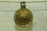 Rare Brass Pendant from Ethiopia