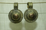 Pair of Rare Ethiopian Brass Pendants