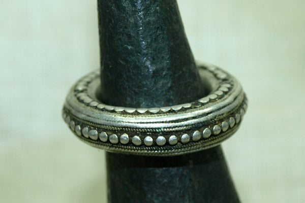 Rare Silver Ethiopian Wedding Ring