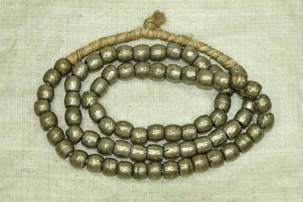 Antique Silver Beads from Ethiopia