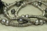 Antique Coin Silver Necklace from Ethopia