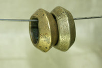 Pair of Brass rings with eyes from Ethiopia
