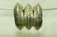 Traditional Hair Rings from Ethiopia with Silver Finish