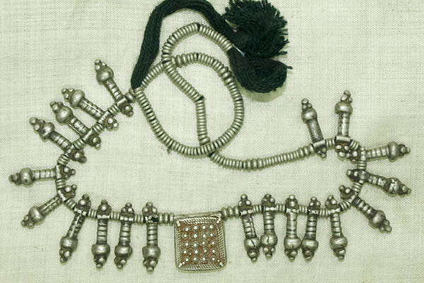 Antique Silver from Ethiopia; Heishi, Pendants, and a Telsum