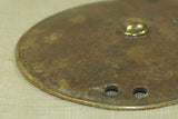 Antique Brass Ethiopian Shield Pendant