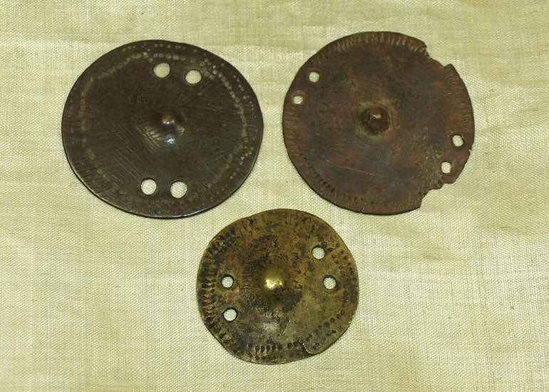 "Ethiopian Bronze ""Shield"" Set"