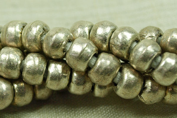 Strand 7mm Silver Tone Rounds from Ethiopia