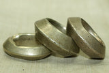 Set of three Large Antique Ethiopian Hair Rings