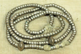 Old Ethiopian Silver Beads 5mm x 3mm