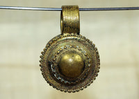 Small Rare Brass Pendant from Ethiopia