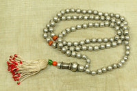 Old Afghan silver prayer beads