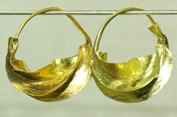 Fulani Brass Earrings, tiny