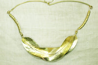 Fancy Brass Fulani Necklace