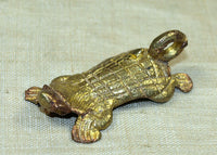 Brass Toad Fetish/Pendant from Ghana