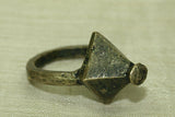 Antique Bronze Ring from Ghana