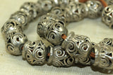 Antique Filagree Silver Bead from India