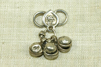 Antique Silver Clasp from India