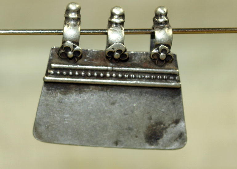 Old Silver Pendant from India