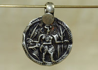 Lord Shiva, Hindu Deity Amulet from India