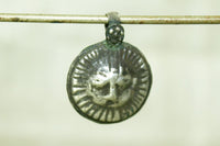 Small Jain Tirthankara Mahavira Pendant from India