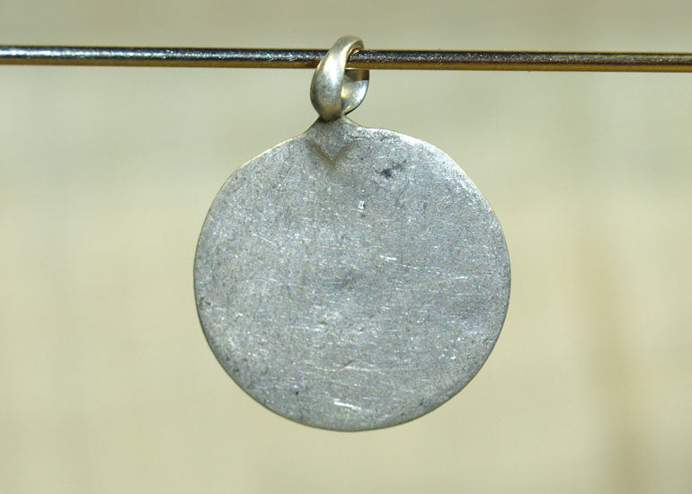 Small Vintage Disc Pendant from India