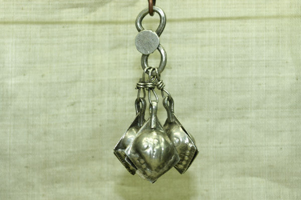 Vintage silver Dangles from India