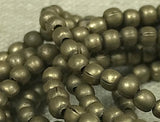 Small 2mm Brass Beads from India