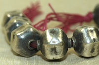 Large Silver Beads From India