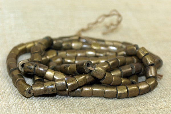 Antique Brass/bronze Beads from India