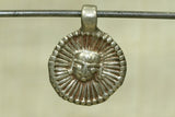 India Silver Jagann pendant, a form of Lord Krishna