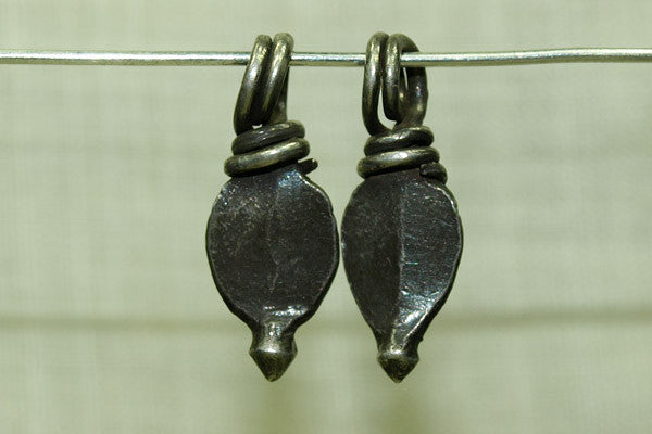 Antique India Silver Solid Dangle