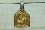 Small Hindu Rajasthani Rider Pendant from India