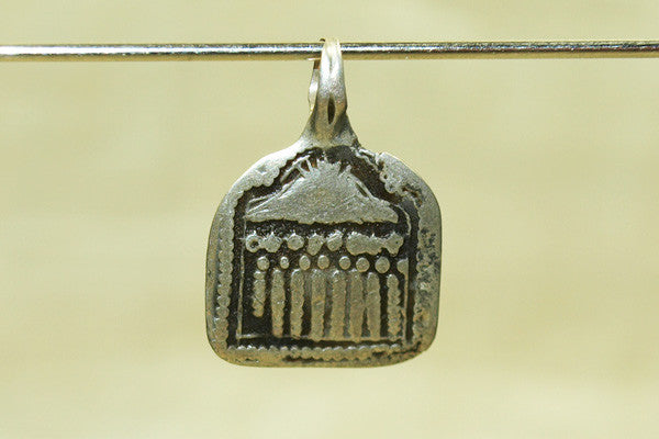Small Hindu Seven Mothers Pendant from India