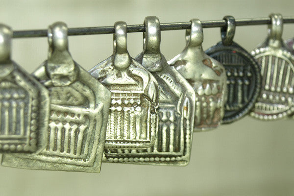 "Collection of Hindu ""Seven Mothers"" Amulets from India"
