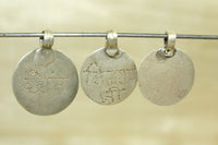 Set of three Antique Hindu amulets