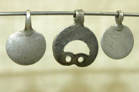 Set of silver dangles from India
