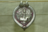 Antique Hindu Durga Goddess Pendant