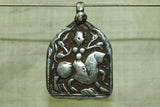 Hindu Goddess Durga Pendant from India