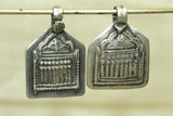 Pair of Hindu Seven Mothers Pendants from India