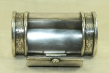 Vintage Silver Snuff Box from India