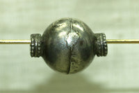 Old India Large Silver Bead