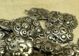 Set of 19 Antique Silver Links from India