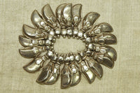 Old India Coin Silver Dagger Beads