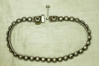 Old Coin silver Choker from India