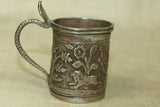 Small Antique Silver cup from India