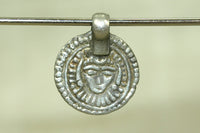 Tiny silver Krishna Amulet from INdia