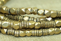 Tiny Brass Mixed Shape Beads from India/Nepal