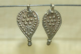 Old Coin Silver Floral Pendant, India