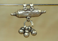 Small Silver Pendant from India with set of Dangles