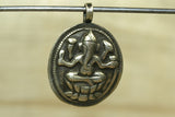 New Coin Silver Lord Ganesha amulet